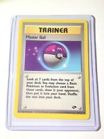 MASTER BALL - Gym Challenge - 116/132 - Trainer - Uncommon - Pokemon Card - NM