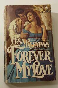Kleypas Lisa ~ Forever My Love (Paperback, 1988) ~ RARE/VHTF