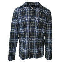 Levi's Men's Blue Plaid Jackson Worker L/S Woven Shirt (Retail $70.00)