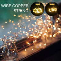 LED String Fairy Lights Battery Home Twinkle Decor For Party, Christmas Garde SH