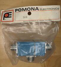 Vintage Pomona Electronics 2418 Blue Enamel Shielded Box.