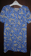 Atmosphere woman blue short sleeve dress size 8