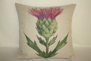 Thistle   Cushion Cover Handmade