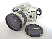 MINOLTA Dynax 404si autofocus 35 mm appareil photo argentique avec objectif 28-80 mm # ne #