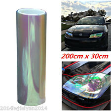 "12""x78"" Chameleon Colorful Transparent Headlight Tail /Fog Light Vinyl Tint Film"