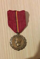 Medaille WO I 1914 1918 koning Albertmedaille