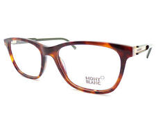 MONT BLANC unisex Brown Tortoise 56mm RX Spectacles Glasses Frame MB0631 A56