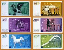 SET Slovenia, Private Issue, 10;20;50;100;200;500 Talerjev, 2007, UNC