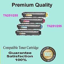 1 SET Each Colour TN-251 TN-255 Toner COMP for Brother HL-3170 MFC-9140 MFC-9335