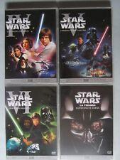DVD cofanetto - Star Wars - Episodi IV, V e VI + Extra - 4 DVD