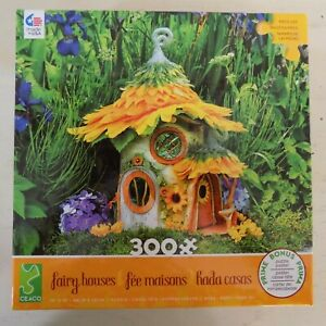 Ceaco Fairy House Series 300 Pc Large Piece Jigsaw Puzzle