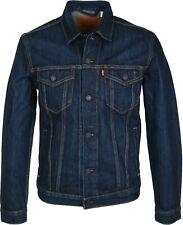 LEVI'S MEN'S DENIM TRUCKER JACKET Conifer Blue - Style # 723310147  Size: XL