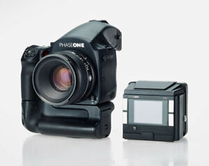 PHASE ONE P45+ DIGI-Back an Body DF+, 80mm LS Optik & Accu-Griff
