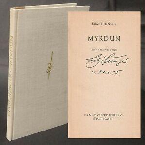 Ernst Jünger: Myrdun. Briefe aus Norwegen 1975 SIGNIERT