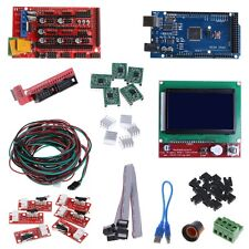 CNC 3D Printer Kit Mega 2560 R3+RAMPS 1.4 Controller+LCD 12864+5 x A4988 Driver