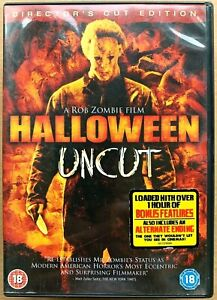 Halloween DVD Director's Cut 2007 Rob Zombie Horror Slasher Remake