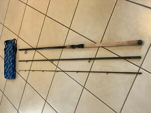 """Daiwa Porky Pig Power Rod 12'2"""" Classic Carbon Made in Great Britain, NR MINT"""