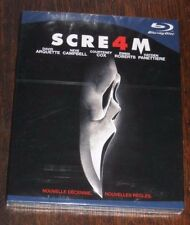 "New Film Blu-Ray disc ""SCREAM 4"" (Arquette, Cox, Campbell) [NEUF SOUS CELLO!!!]"