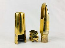 Otto Link Vintage STM Early Babbitt #8 Tenor Sax Mouthpiece w/ligature & cap!
