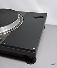"""Tone arm Panel made of CORIAN for TECHNICS sl-1100/110 with SME 12"""" Cut"""