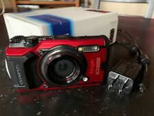 Olympus Tough Tg-6 12.0Mp Point & Shoot Digital Camera - Red