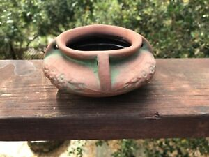 "Antique Peters & Reed Zane Ware Arts And Crafts / Mission Era 5.25"" Planter"