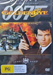 Goldeneye DVD 007 PIERCE BROSNAN Region 4 NEW/SEALED