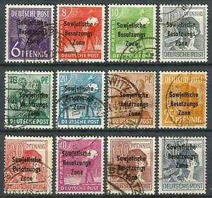 Germany Allied Occupation (1945-1948) Selection mint and used Stamps #3