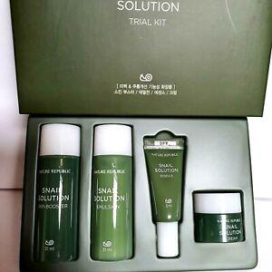Nature Republic Snail Solution Basic Skin Care Trial kit