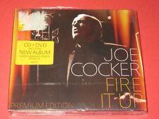 Joe Cocker / Fire It Up - CD + DVD (Sony Music-88725496432) OVP - CD