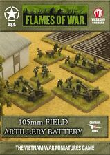 Flames of War BNIB Vietnam - 105mm Field Artillery Battery