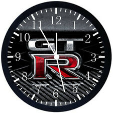 Nissan GTR Black Frame Wall Clock Nice For Decor or Gifts F116