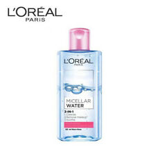 [LOREAL] MICELLAR WATER 3-IN-1 Lip Eye Facial Makeup Cleanser Remover 95ml NEW