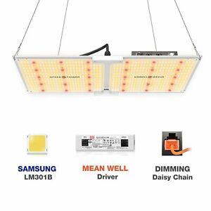 Spider Farmer SF2000 LED Grow Light Dimmer Knob Full Spectrum Samsung Diode