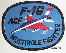US.Air Force `F-16` Aircraft Cloth Badge / Patch (F16-3)