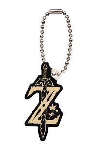 The Legend of Zelda Breath of Wild Game Mascot PVC Keychain Figure ~ Z Icon@9620