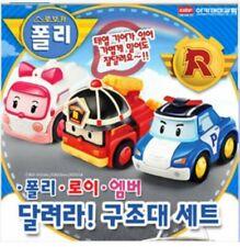 Authentic Robocar Poli RUN  rescue set toy US SELLER