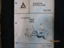 Allis-Chalmers Parts Catalogue Manual Tractors Models 180 & 185 Factory Original