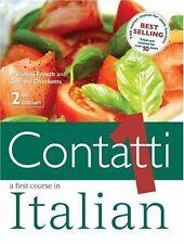 Contatti 1: STDNT BK 2ED: A First Course in Italian: Student's Book v. 1,Mariol