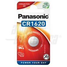 Pila litio CR1620 3V batteria orologio bottone moneta radiocomando apricancello
