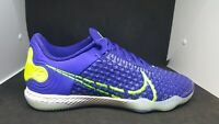 Nike Mens React Gato Indoor Soccer Shoes Volt CT0550-474