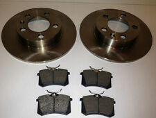 AUDI A3 REAR BRAKE DISCS AND PADS (47037)