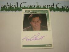 Star Trek TNG Heroes & Villains - Ken Olandt as Jason Vigo Autograph