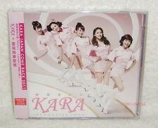 Korean Idol Kara Jet Coaster Love Taiwan Ltd CD+DVD