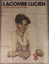 LACOMBE LUCIEN affiche originale film 120x160 cm 1974 MALLE