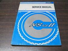 MANUEL REVUE TECHNIQUE D ATELIER DAELIM NS 125 II 1999 -> service manual