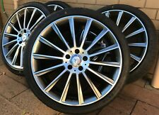 "20"" MERCEDES BENZ AMG STYLE Alloy Wheels RIMS 100% NEW TYRES - STAGGERED SET"