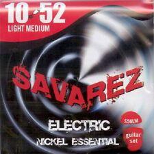 SAVAREZ Jeu de cordes électrique NICKEL Light-Medium 10-52 - S50LM