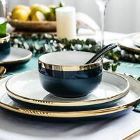 Bowl Plate Tableware Set Kitchen Vegetable Noodle Sauce Kitchen Serving Dishes