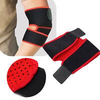 Adjustable Elbow Knee Support Brace Strap Belt Wrap For Tennis Golfers Gym-Golf